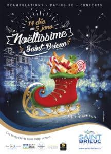 Compagnie Belizama Marché de Noël Saint-Brieux 18 Décembre 2019.